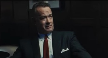 James Donovan played by Tom Hanks in Bridge of Spies