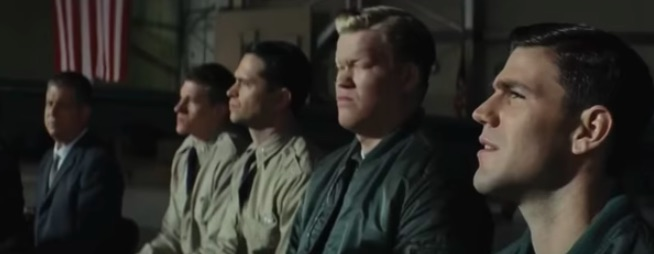 pilot briefing from Bridge of Spies