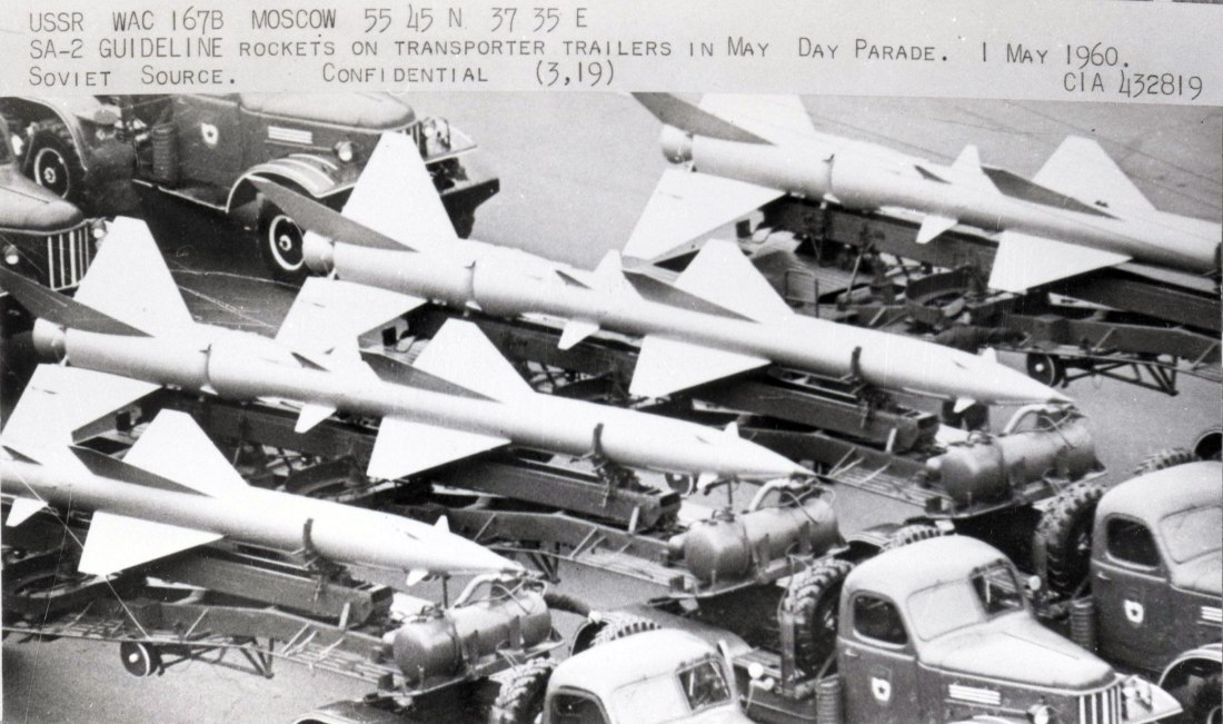 SA-2 on parade MayDay 1960! via NSArchive rcvd Dec18