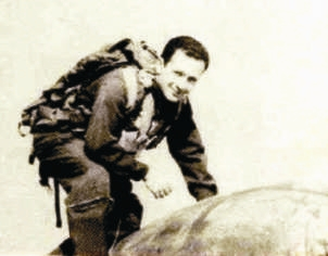 Greek pilot Tselepidis entering F-84G via Kirk Aug13