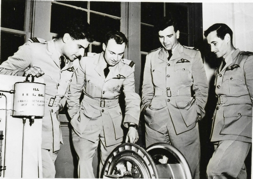 British pilots at Laughlin